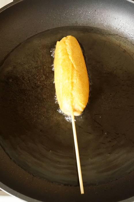 Корн Дог - американское лакомство, пошаговый фото рецепт, кулинарный блог