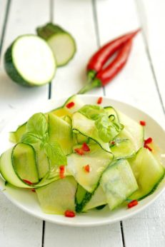 Летний салат Джейми Оливера, пошаговый фото рецепт, кулинарный блог