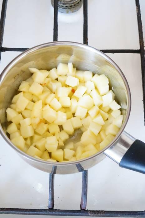 Рисовый пудинг на кокосовом молоке, пошаговый фото рецепт