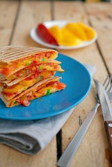 Кесадилья, пошаговый фото рецепт, кулинарный блог