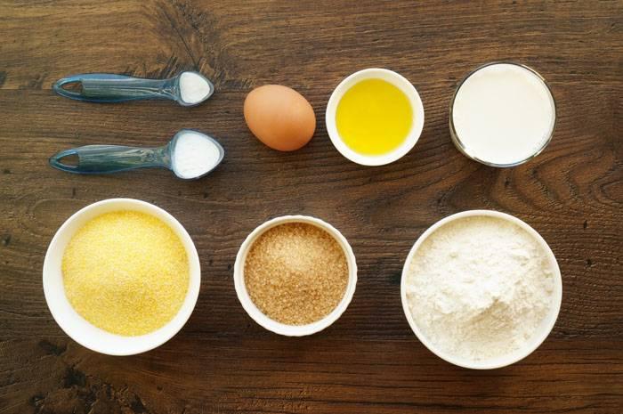 Кукурузные панкейки, пошаговый фото рецепт, кулинарный блог