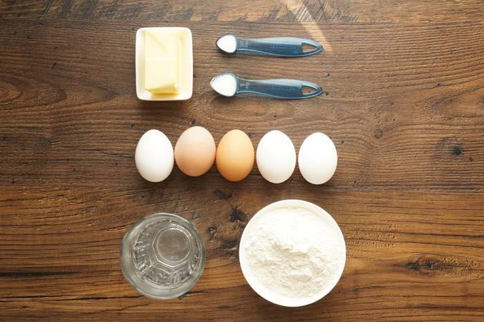 Заварное тесто, пошаговый фото рецепт, кулинарный блог
