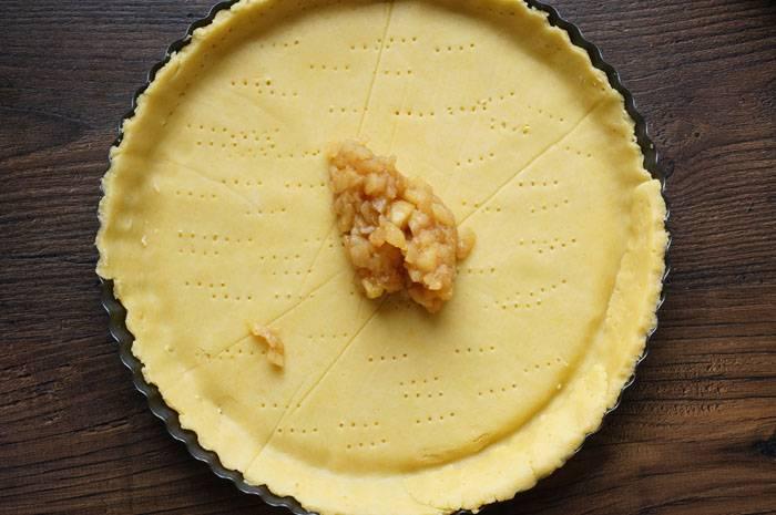 Классический яблочный тарт, пошаговый фото рецепт, кулинарный блог
