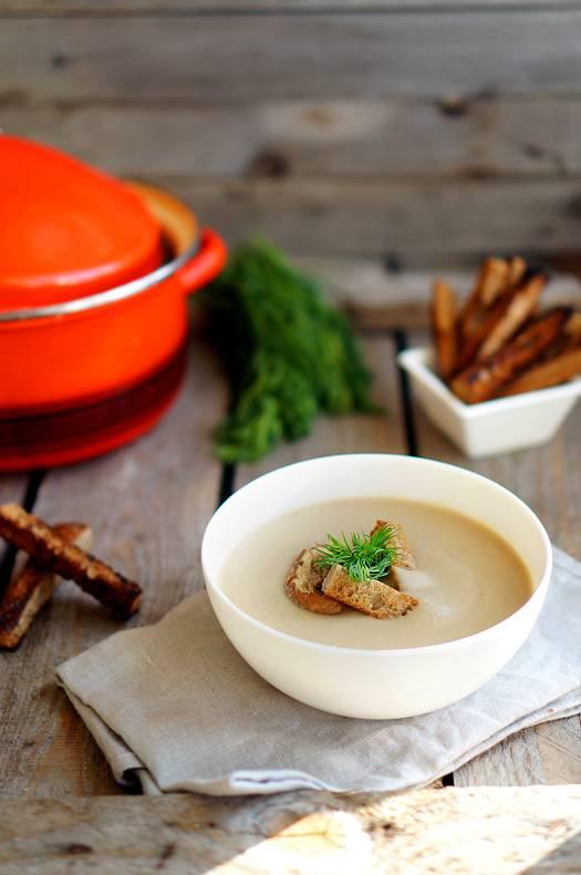 рецепт как варить суп из белых грибов