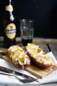 Сендвичи с персиками и сыром Бри, пошаговый фото рецепт, кулинарный блог