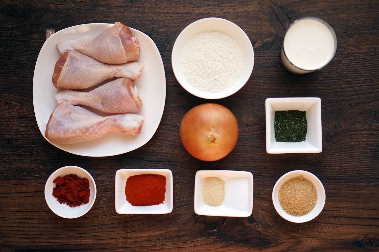 Хрустящая курица в панировке по американскому рецепту, пошаговый фото рецепт, кулинарный блог andychef.ru