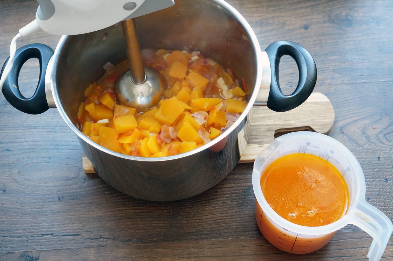 тыквенный суп рецепт с фото