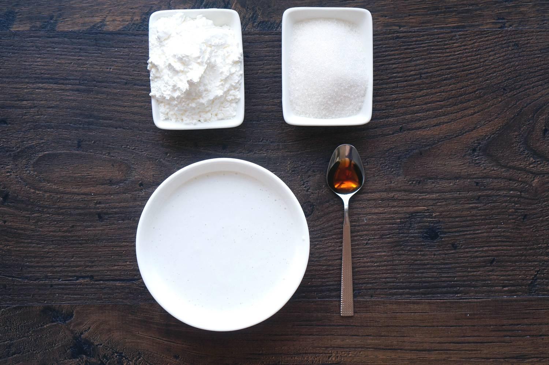 Бланманже с кокосовым молоком, пошаговый фото рецепт, кулинарный блог andychef.ru