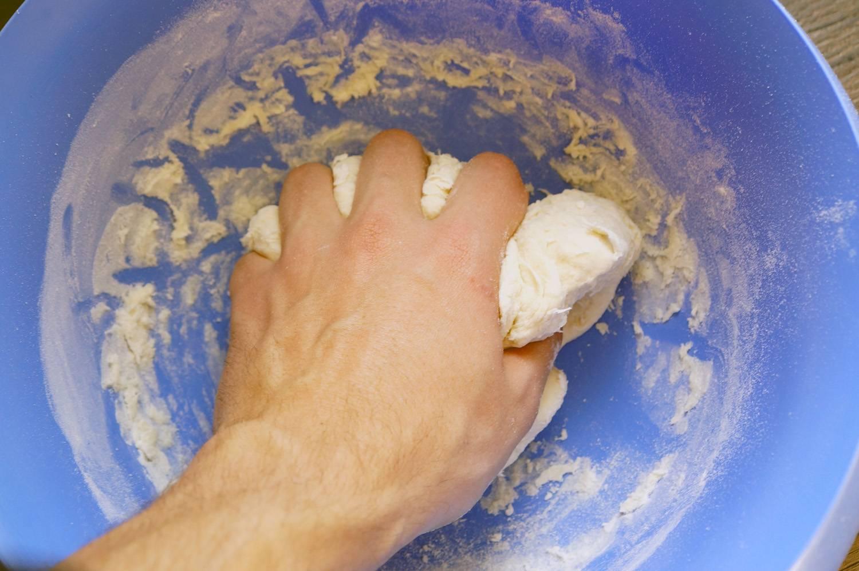 Тесто для пиццы, пошаговый фото рецепт, кулинарный блог andychef.ru