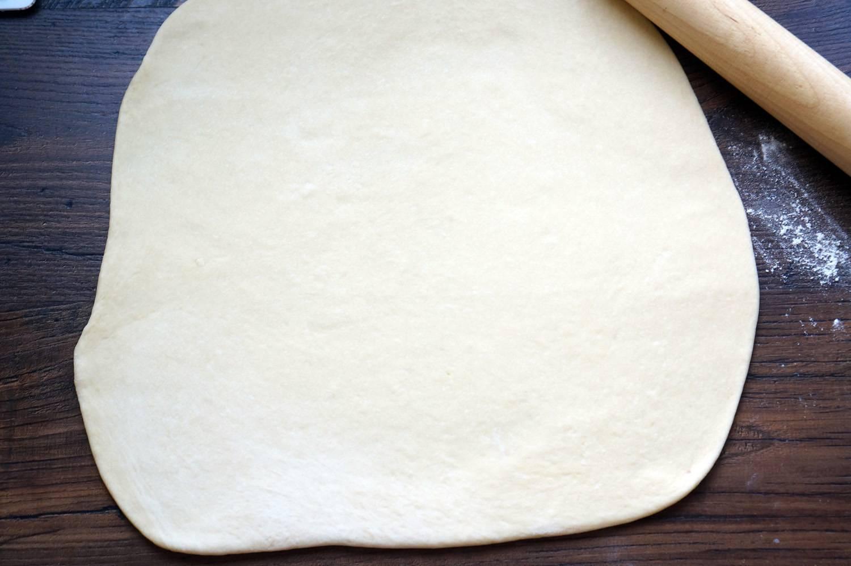 Булочка с корицей и сливочный кремом, Синнабон, пошаговый фото рецепт, кулинарный блог andychef.ru