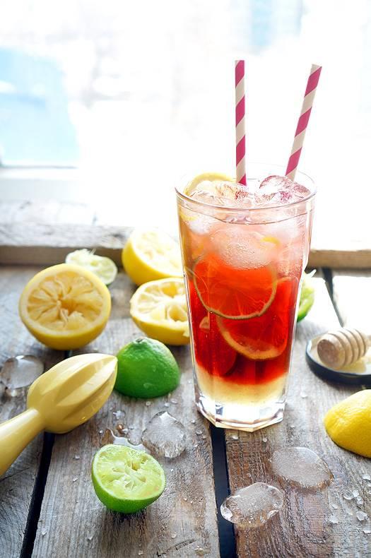 Витаминный коктейль с мёдом и солью, пошаговый фото рецепт, кулинарный блог andychef.ru