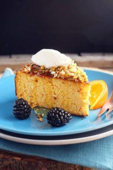 Апельсиновый торт с мёдом, пошаговый рецепт с фото, кулинарный фуд блог andychef.ru