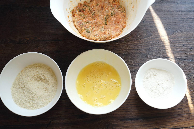 Шотландское яйцо, пошаговый фото рецепт, кулинарный блог andychef.ru