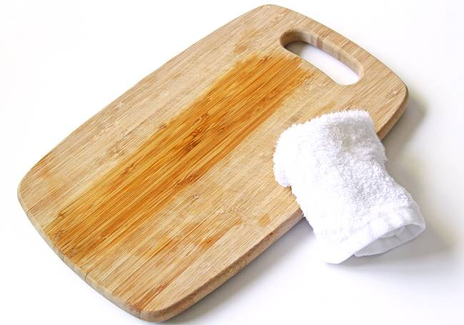 Как смазывать разделочные доски минеральным маслом