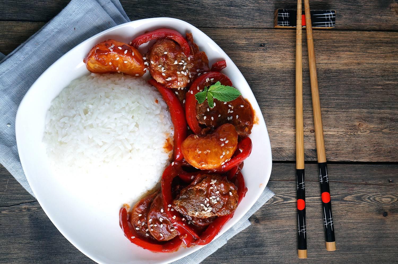 острый соус к рису рецепт