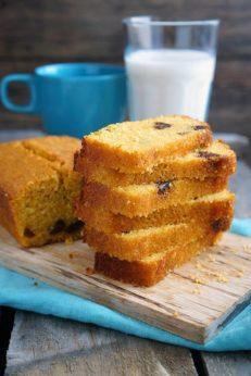 Кукурузный хлеб с финиками, пошаговый фото рецепт, кулинарный блог andychef.ru