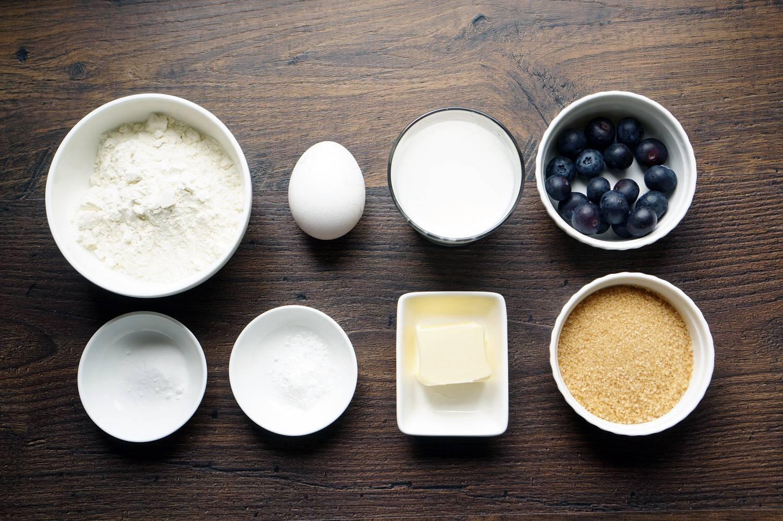Пышные панкейки с голубикой, пошаговый фото рецепт, кулинарный блог andychef.ru