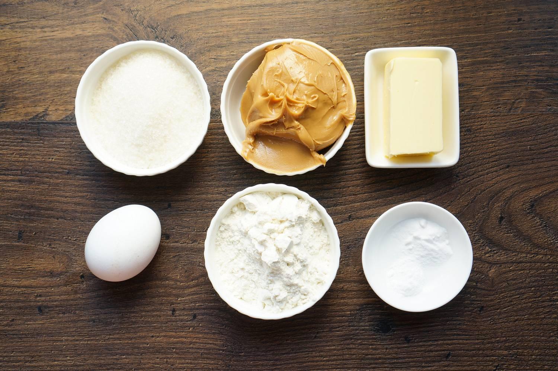 Печенье с арахисовой пастой, пошаговый фоторецепт, кулинарный блог andychef.ru