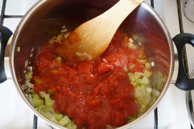 Томатный рыбный суп, пошаговый фоторецепт, кулинарный блог и интернет-магазин, andychef.ru