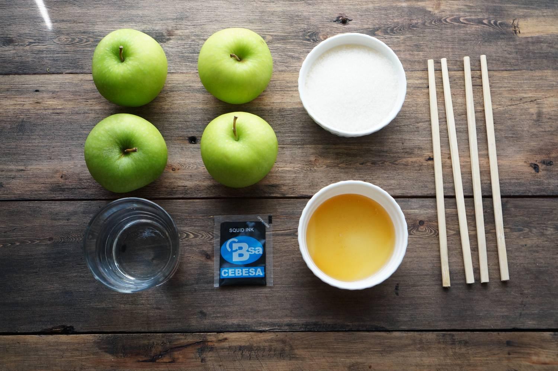 Карамельные яблоки, пошаговый фото рецепт, кулинарный блог, интернет-магазин, andychef.ru