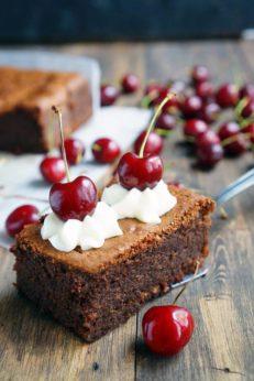 Быстрый шоколадный десерт, пошаговый фото рецепт, интернет-магазин, доставка по России, кулинарный блог andychef.ru