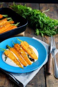 Морковь с шалфеем, запеченная, пошаговый фото рецепт, кулинарный блог и интернет-магазин с доставкой по России, andychef.ru
