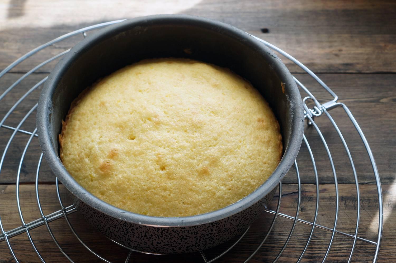 Бисквит на масле рецепт пошагово