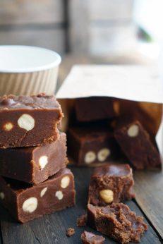 Шоколадный фадж, десерт, пошаговый рецепт с фото, фуд-блог и интернет-магазин с доставкой по России, andychef.ru