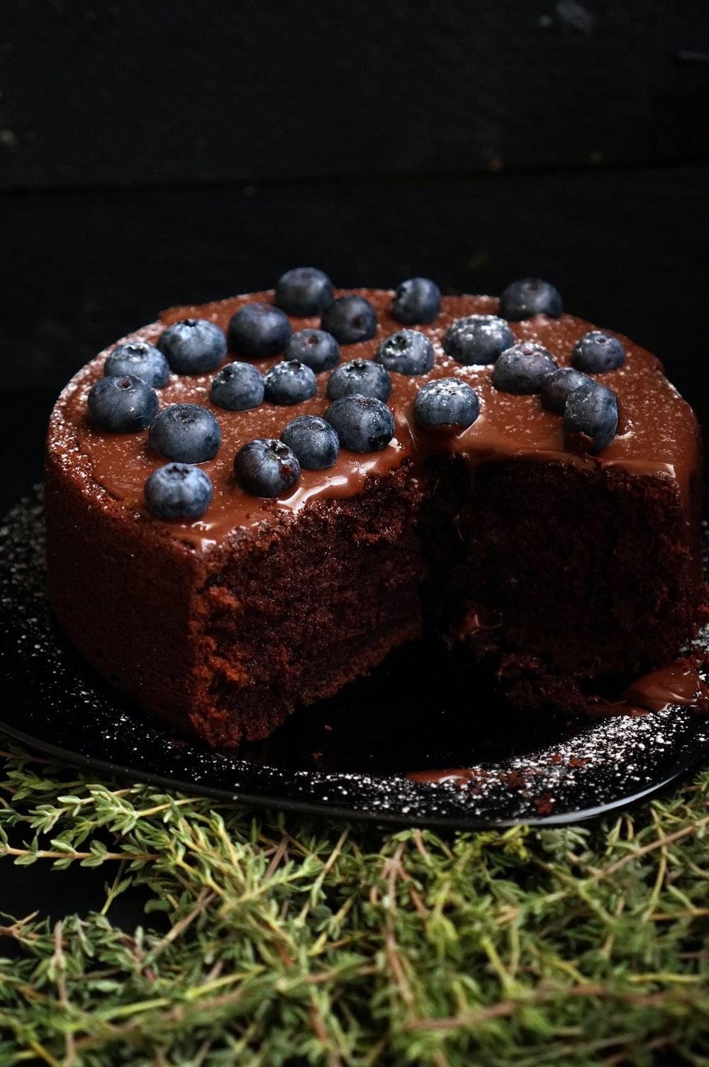 Шоколадный торт на раз, два, три - Andy Chef (Энди Шеф)