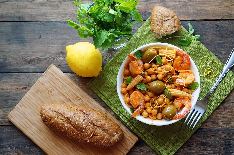 Как приготовить средиземноморский салат с нутом, пошаговый рецепт с фото, блог и интернет-магазин andychef.ru