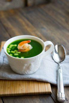 Как приготовить суп из огурцов и креветок, пошаговый фото рецепт, блог с интернет-магазином с доставкой по России, andychef.ru
