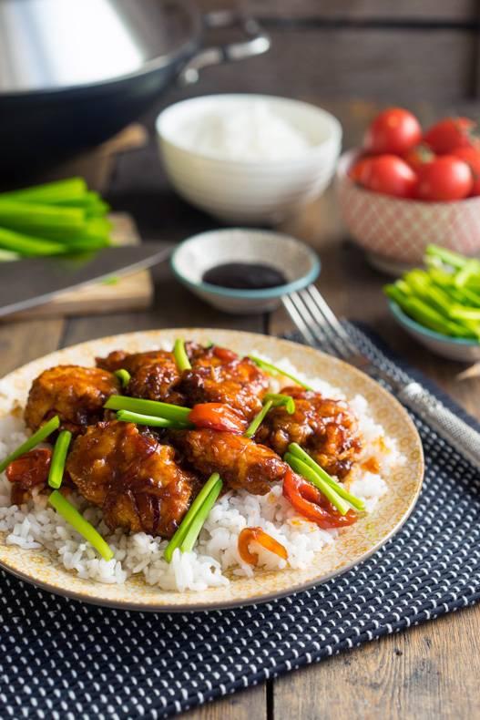 Курица по-азиатски в кляре и густом соусе, пошаговый рецепт с фото, блог и интернет-магазин с доставкой по России, andychef.ru