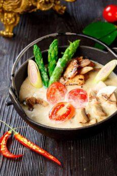 Как приготовить тайский суп том кха, пошаговый рецепт с фото, блог и интернет-магазин с доставкой по России, andychef.ru