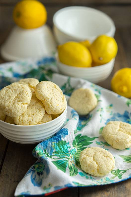 простой рецепт лимонного печенья без масла