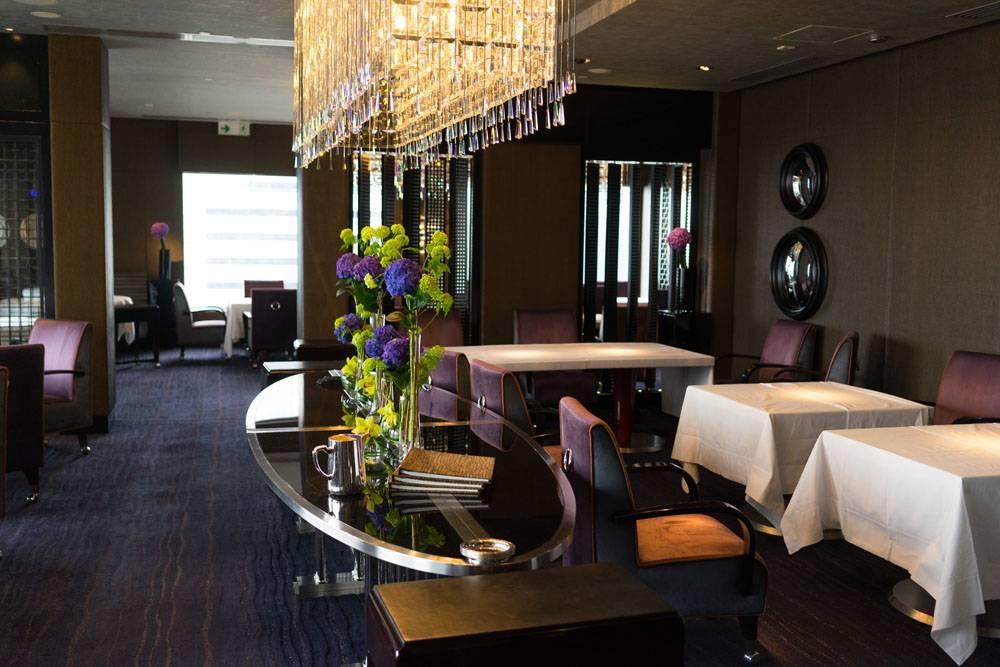 Jean-Denis Le Bras шеф-повар ресторана Pierre с двумя звёздами Мишлена, в Гонконге