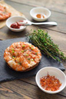 Пицца с креветками и пряностями, тесто фило, слоёное тесто, пошаговый рецепт с фото, блог и интернет-магазин andychef.ru