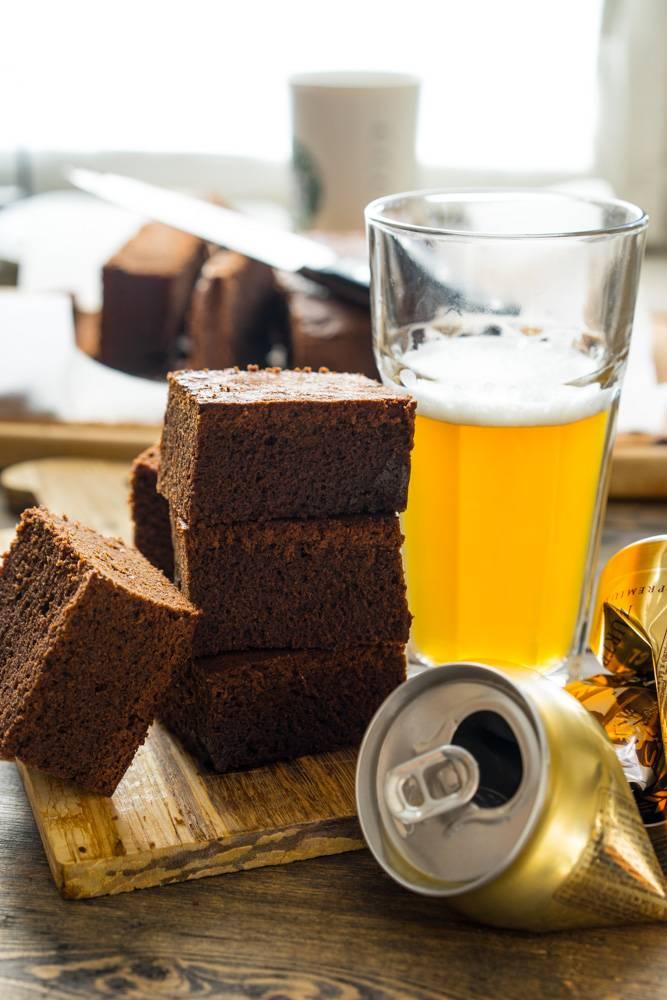 Как приготовить брауни с пивом, пошаговый рецепт с фото, блог и интернет-магазин andychef.ru