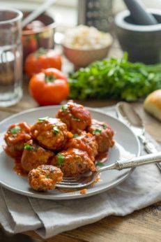 Как приготовить быстрый тефтели (митболы) с томатным соусом, пошаговый рецепт с фото, блог и интернет-магазин andychef.ru