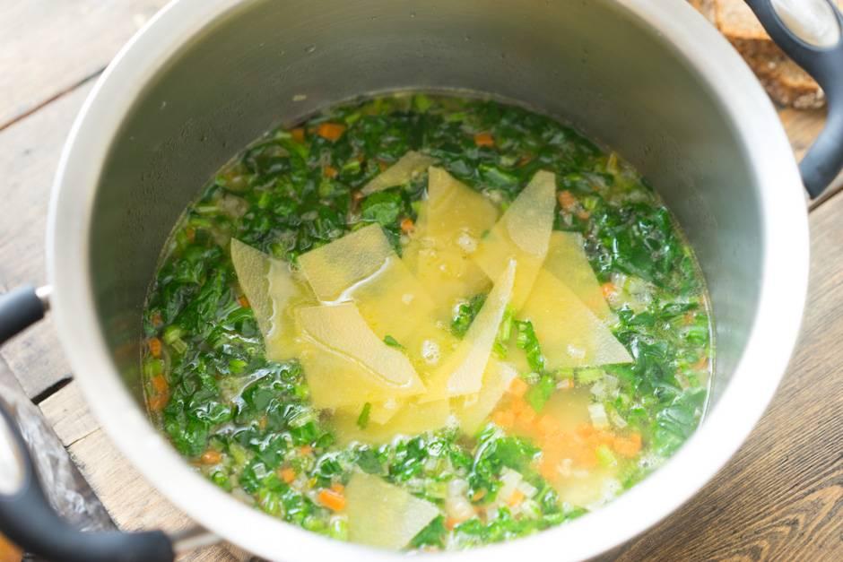 рецепт паста полло зеленые