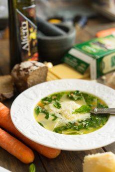 Рецепт супа со шпинатом, пошаговый рецепт с фото, блог и интернет-магазин andychef.ru
