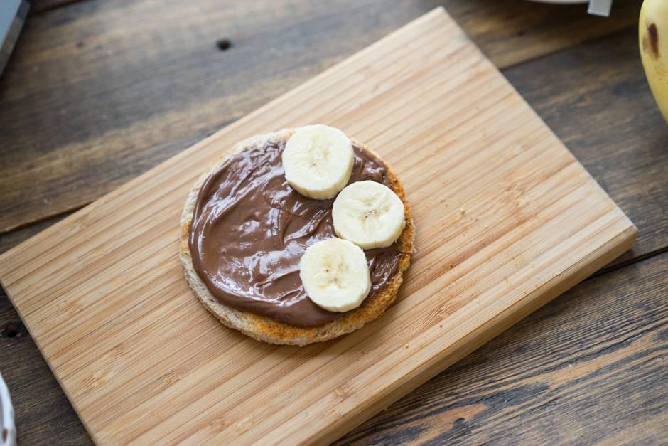 торт с нутеллой и бананами рецепт