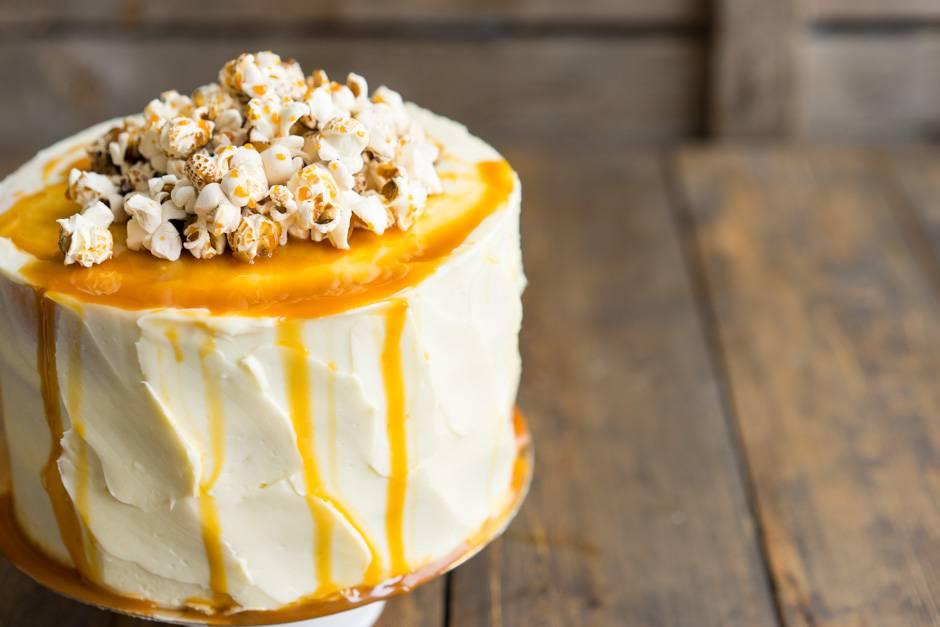 как приготовить обычный торт белый корж