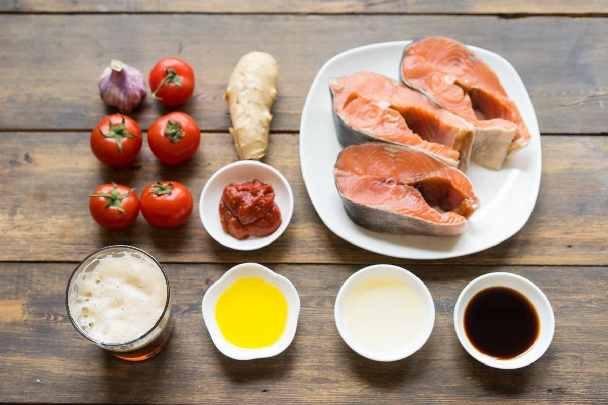 Паста с рыбой фото рецепт пошаговый