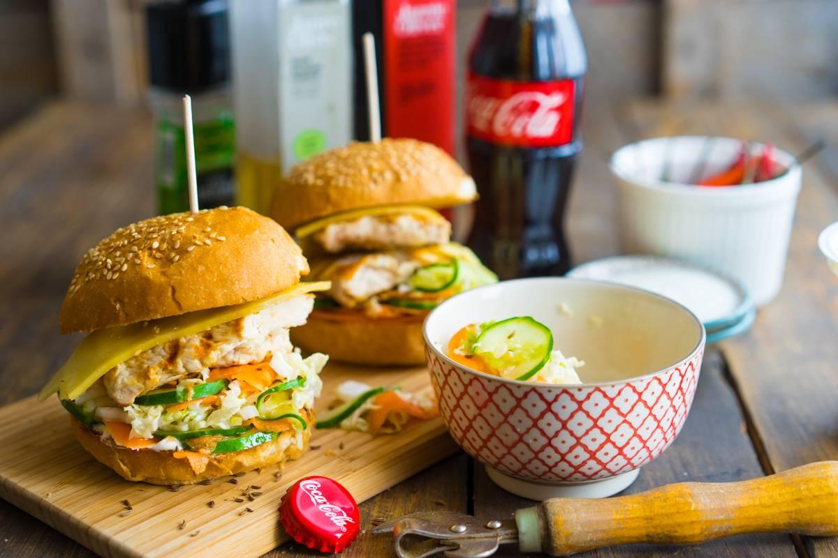 Как приготовить гамбургер с курицей с филе и овощами, пошаговый рецепт с фото, блог и интернет-магазин с доставкой по России andychef.ru