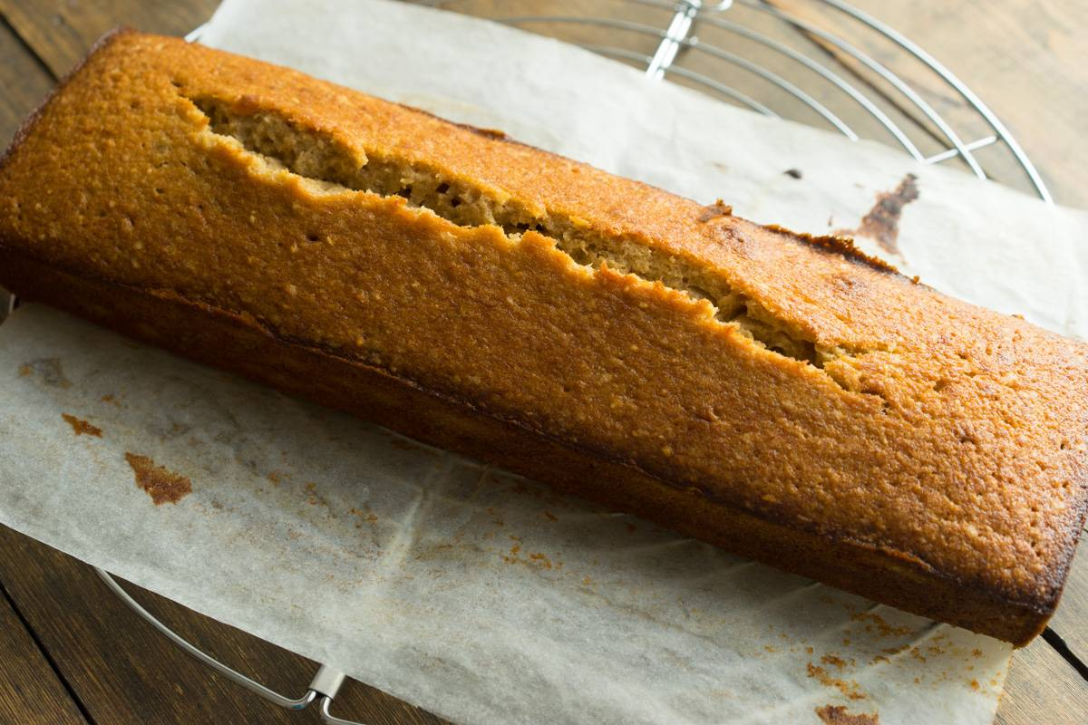 Как приготовить банановый хлеб, кекс с бананами, пошаговый рецепт с фото, блог andychef.ru