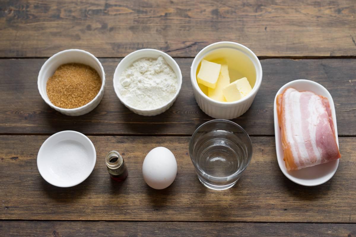 Венские вафли, как приготовить тесто для вафельницы, пошаговый рецепт вафель с беконом и кленовым соком, блог и интернет-магазин andychef.ru