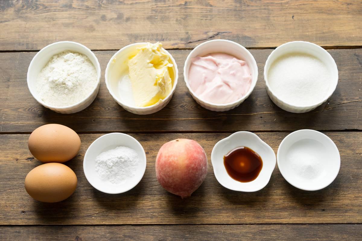 Как приготовить влажный персиковый пирог, пошаговый рецепт с фото, блог и интернет-магазин andychef.ru