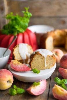 Персиковый пирог, пошаговый рецепт с фото