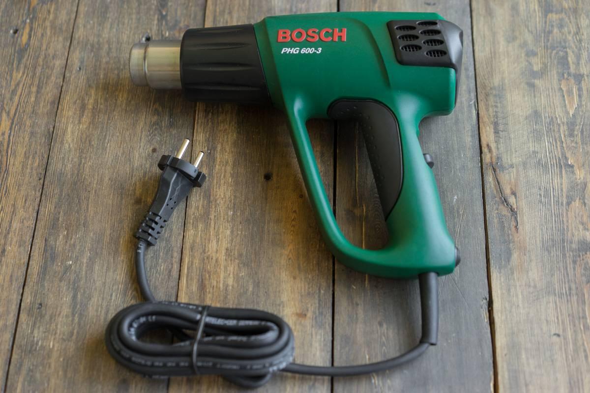 Обзор технического фена, теплового пистолета BOSCH PHG 600-3, подробный отзыв с фото и видео, блог andychef.ru