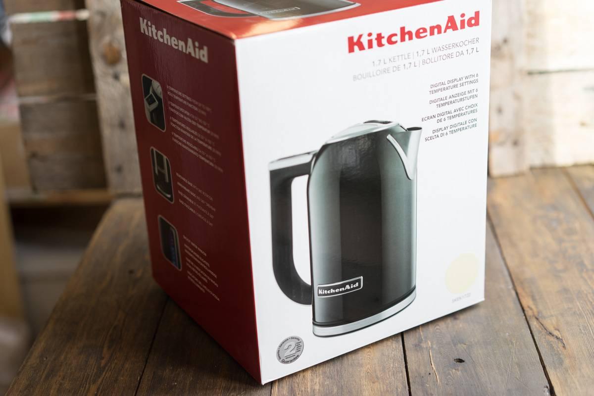 Обзор и тест чайника Kutchen Aid, нагрев воды, бытовые приборы, отзывы о чайниках Kitchen Aid, фото-обзор, блог andychef.ru